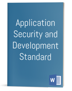 Application Security and Development Standard