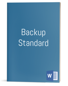 Backup Standard template