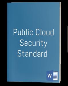 Public Cloud Security Standard template