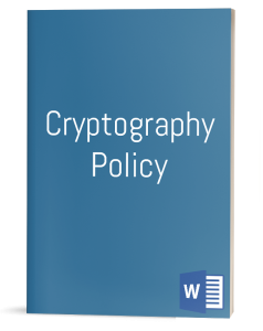 Cryptography Policy template