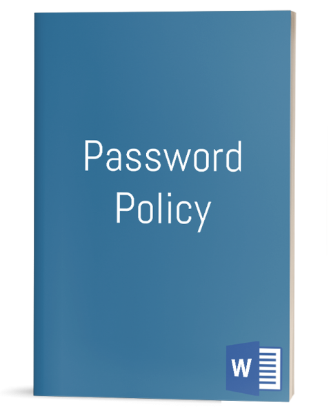 Password Policy template